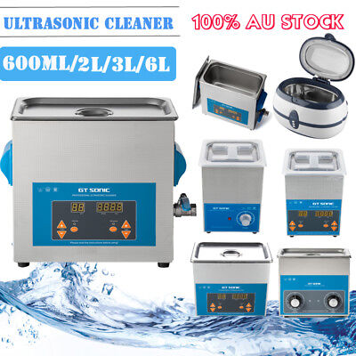 2/3/6L Digital Ultrasonic Cleaner Ultra Sonic Bath Cleaning Timer Tank