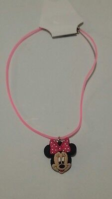 Bnwts Minnie Mouse Necklace