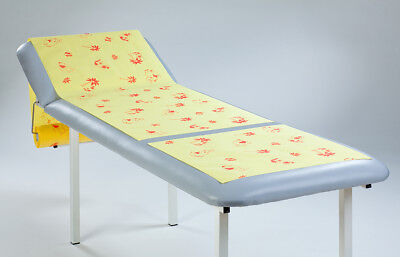 6x Medical Couch rolls,  Pediatric Exam Table Paper-Foil witdh: 50cm