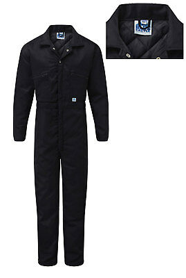 Castle - WARM Inner Quilted Zip Front Work Boiler Suit Overall Coverall
