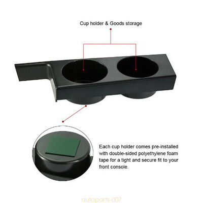 PLASTIC FRONT CUP HOLDER For BMW E39 5-SERIES 1997-2003 525i 528i 530 97-03 as07