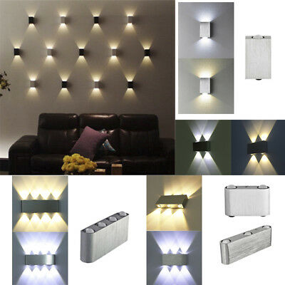 Modern LED Wall Light Up Down Sconce Fixture Lighting Lamp Indoor Room Decor
