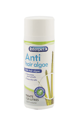 Interpet Anti Hair Algae Aquarium Algae Remover Clearer 125ml