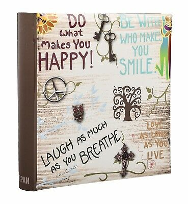 6x4 Inch / 10x15 cm 200 Pockets Slip In Photo Album With Memo Area Ideal Gift