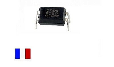 Optocoupleur PC817 - Phototransistor - DIP-4 EL817