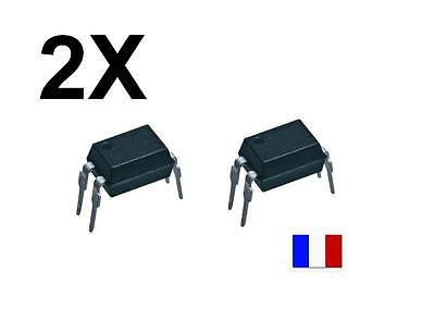 Lot 2x Optocoupleur SFH620A-3X  Photocoupleur Phototransistor