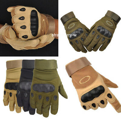 Military Army Outdoor Airsoft Full Finger Motorcycle Cycling Tactical Gloves