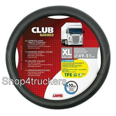DELUX BUS COACH steering wheel cover x large 49cm to 51cm Black not All Ride
