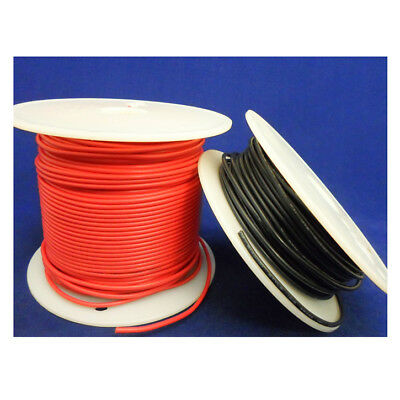 Wire Hook-up 22 AWG Solid 30m PVC Black - Pack of 2 - EL396-0030
