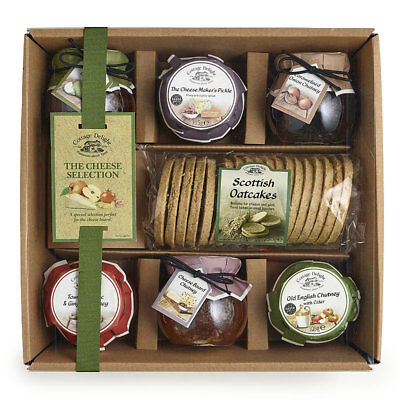 Cottage Delight The Cheeseboard Accompaniments Hamper - Ideal for Christmas