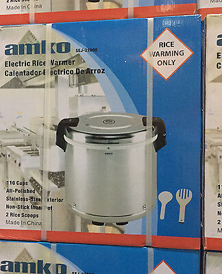 AMKO COMMERCIAL ELECTRIC RICE WARMER (100 Rice Bowls)