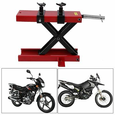 Uk Motorbike Motorcycle Table Bench Workshop Scissor Lift Jack Stand Paddock New