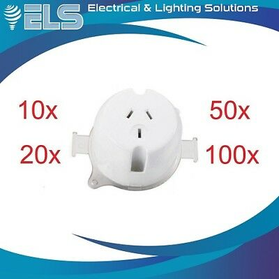 Surface Sockets Plug Base BULK Electrical Outlets Fan Base Surface LED Downlight