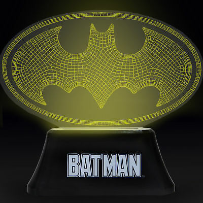 Official Batman Colour Changing LED Mood Light / Night Light