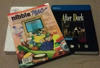 Vintage Apple Mac software and magazine
