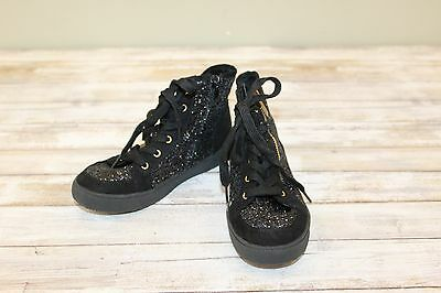 01c76a33e7d7e0   Sam Edelman Britt Roxy Glittery High Top Sneaker - Little Girls Size 1
