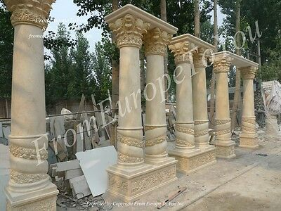 The Best Egypt Cream Marble Columns On Ebay Meg2