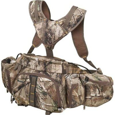 Outdoor Badlands Camo Hunting Backpack Waist Bag Pack for Fishing Hiking Travel