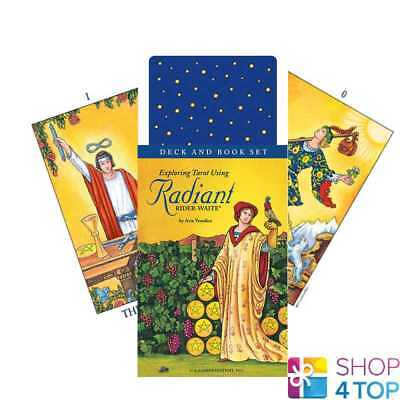 Exploring Tarot Using Radiant Rider-Waite Deck Of Cards And Book Set New