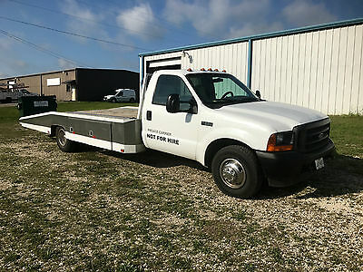 1999 Ford F-350 Hodges Car Hauler 1999 Ford F350 Custom Hodges Car Hauler Winch Great Price must See V8 Automatic