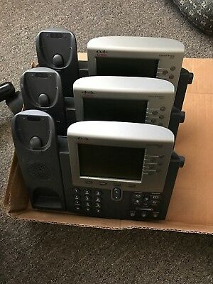 7 Cisco IP Office Phones, 7962 and 7942