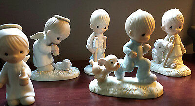 Vintage Precious Moments Figurines - Lot of 5