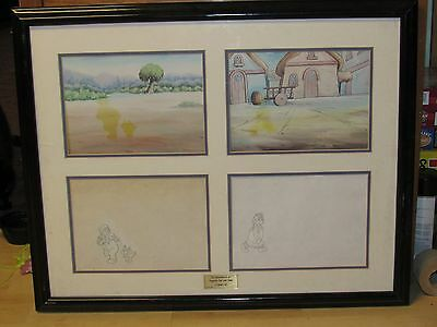 Original Vintage Raggedy Ann Andy Doll Comic Strip Art Collector Cell Coa Papers