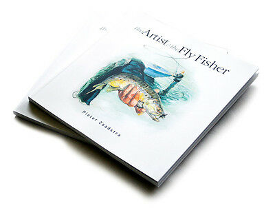 The Artist & Fly Fisher by Pieter Zaadstra - Lavishly illustrated - 128pp 25cm