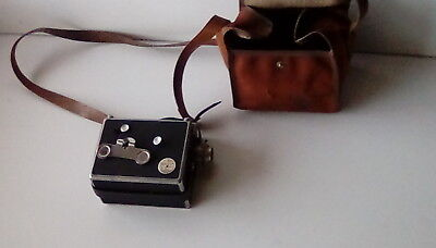 VINTAGE  PATHESCOPE CINE MOVIE CAMERA + Case - VGC + Runs