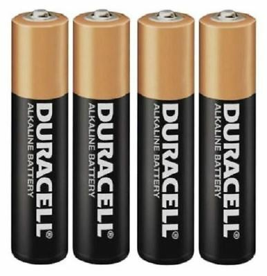 New Duracell Battery Plus Power AAA 4 Pack Non-Rechargeable Toys Clocks Lights