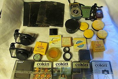 Lot of vintage & Slightly Used Camera Photography Items