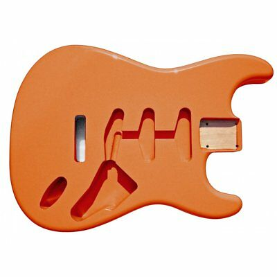 Hosco Strat Body Fiesta Red