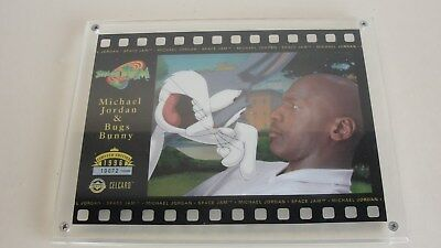 1996 Limited Edition Michael Jordan & Bugs Bunny Space Jam Celcard Upper Deck