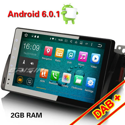 """9"""" Android 6.0 GPS Autorradio BMW E46 M3 320 ROVER 75 MG ZT WiFi DAB+ TDT-IN 3G"""