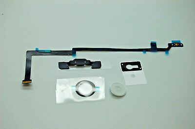 iPad Air 5 White Home Button Camera Bracket Flex Cable Adhesive Replacement