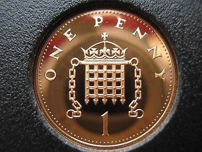 PROOF Decimal 1p Coin Penny 1980 - 1989 - Choose your date