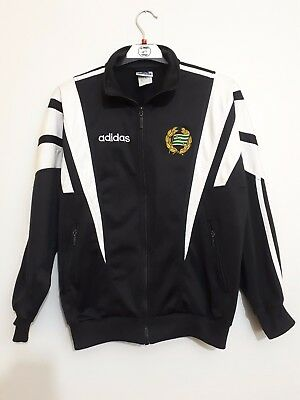VINTAGE Adidas Hammarby IF HIF 90's Tracksuit Jacket Football size SMALL #1163