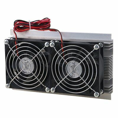 120W Refrigeration Semiconductor Cooler Double Fan DC12V