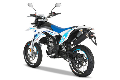 FB MONDIAL SMX 125i SUPERMOTO rot/weiss blau/weiss inklusive Anlieferung