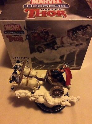 Heroclix Marvel Thor's Mighty Chariot #061