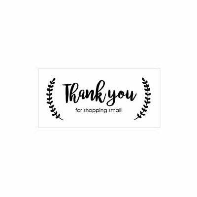 THANK YOU for Shopping Small - eBay Seller Labels - 4x2 - Labels Stickers