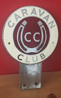 Car Badges A Vintage Caravan Club Pinches London Enamel And Chrome Car Badge With Bracket