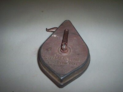Straight-Line Chalk Line Manufactured By Irwin Auger Bit Company Wilmington Oh