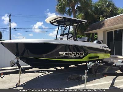 2017 Wellcraft PWE 22 Scarab, Offshore, ONLY 26 HOURS, WARRANTY, We Finance FL