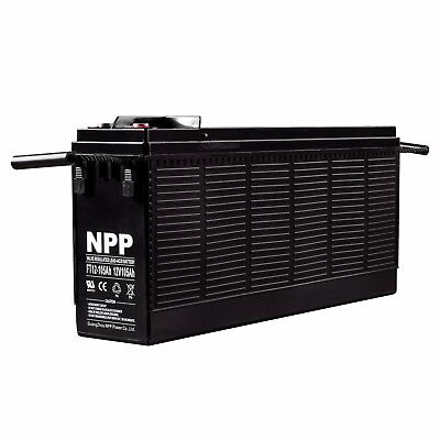 NPP FT12 12V 110Ah 105Ah Front Access Battery Replaces Northstar NSB 100FT