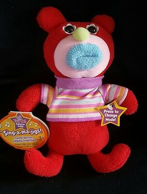 Sing A Ma Jigs Red Sings Oh Where Has My Little Dog Gone Mattel 2010