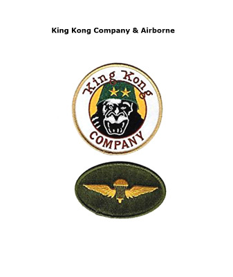 Taxi Driver Deniro Travis Bickle King Kong Company Iron On 2 Pc Patch
