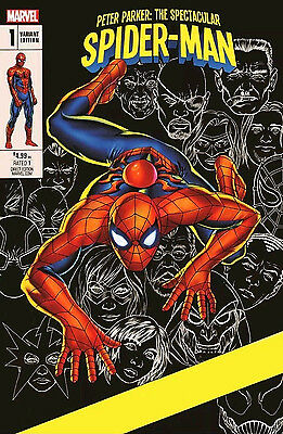 PETER PARKER: SPECTACULAR SPIDER-MAN #1 eBay Exclusive Cassaday Variant Marvel