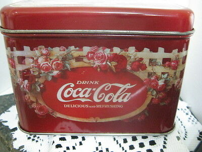 Coca Cola Square Tin