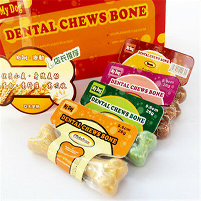 Pet Dog Puppy Food Different Taste Molar Bones Tooth Cleaning Treat Pet  Y^